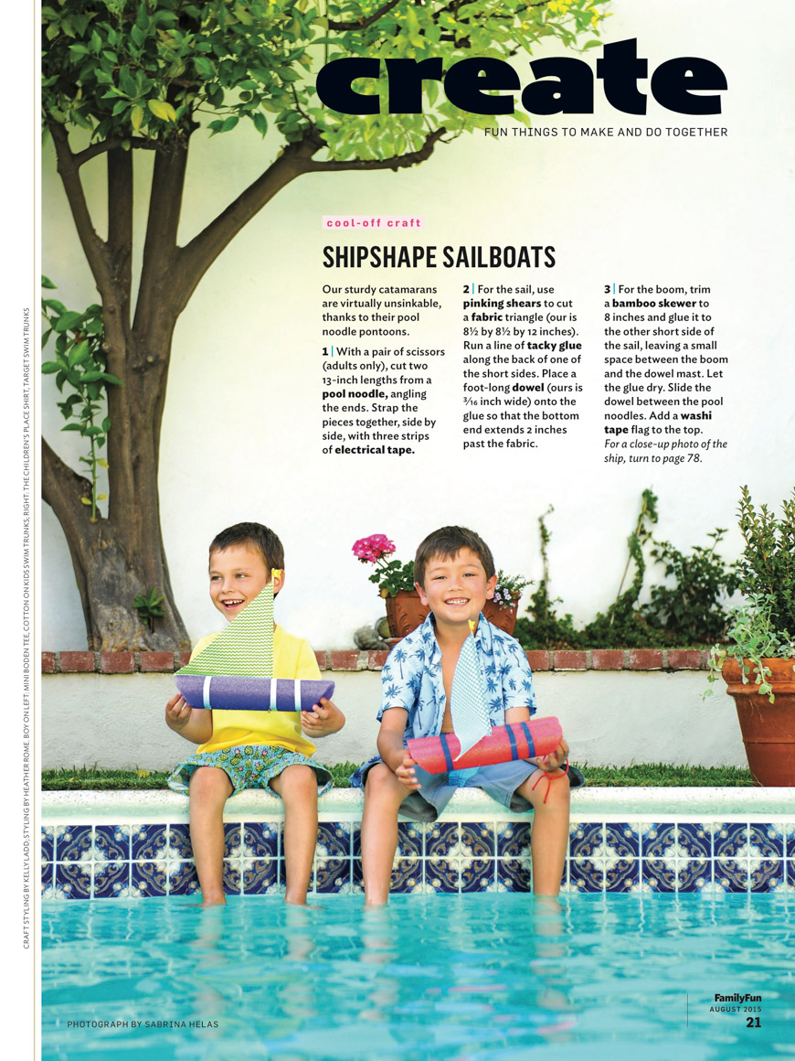 Family Fun Mag August 2015 Tear 2