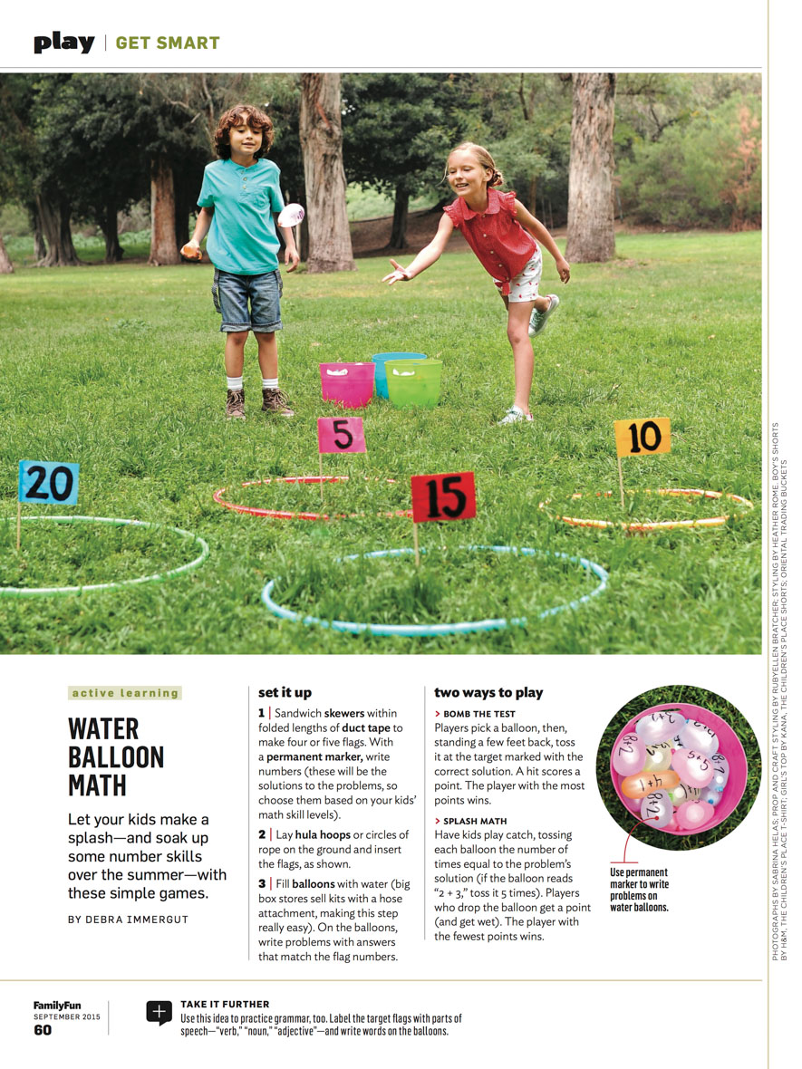 Family Fun Mag Sept tear